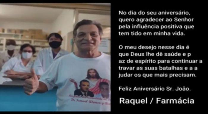 Vídeo em homenagem ao aniversário do médium João Berbel