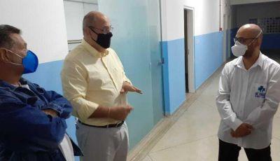 Prefeito dá 5 dias para IMA listar necessidades para abertura do hospital a pacientes de Covid
